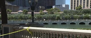 Man dies after jumping in Bellagio Fountains