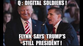 EPIC FLYNN: TRUMP IS PRESIDENT! SPEECH HEALTH & FREEDOM CONFERENCE 2021 Q: DIGITAL SOLDIERS RISE UP!