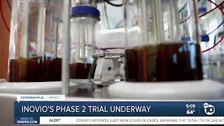 INOVIO's Phase 2 clinical trial underway