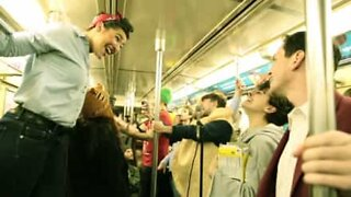 New York subway band plays Queen's 'Somebody To Love'