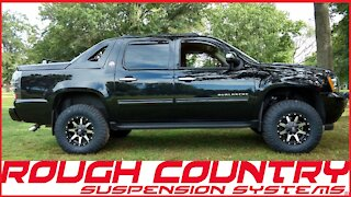 """Chevy Avalanche 3.5"""" Suspension Lift"""