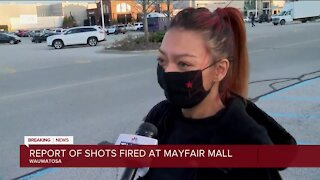 Witness reacts to 'shooting incident' at Mayfair Mall Friday