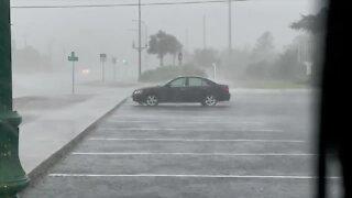 Strong storms move through Hobe Sound