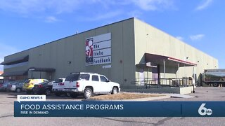 Record high unemployment rates increase demand for food assistance programs