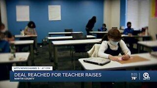 Deal reached for Martin County teacher raises