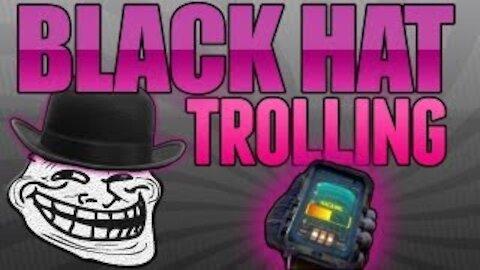Funny BLACK HAT TROLLING on Black Ops 2!!