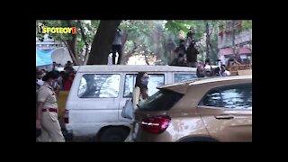 Sara Ali Khan & Shraddha Kapoor Leave NCB Office Post Interrogation   SpotboyE