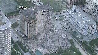 CHOPPER: Florida building collapse: At least 1 dead; boy pulled from rubble alive