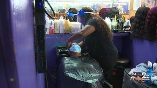 Baltimore hair salon owner 'hesitant' to reopen