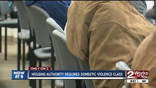 Tulsa public housing requiring domestic violence class