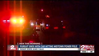 One man arrested after police chase