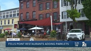 Restaurants in Fells Point working to expand outdoor seating