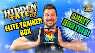 Hidden Fates Elite Trainer Box | Shiny Hunting | Pokemon Opening
