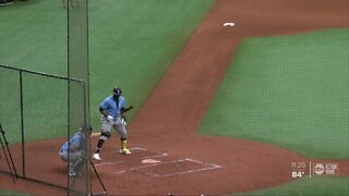 Rays take the field at empty Tropicana Field, NBA grubs in Orlando bubble