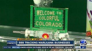 BBB tracking marijuana businesses