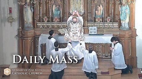 Holy Mass for Thursday Oct. 7, 2021