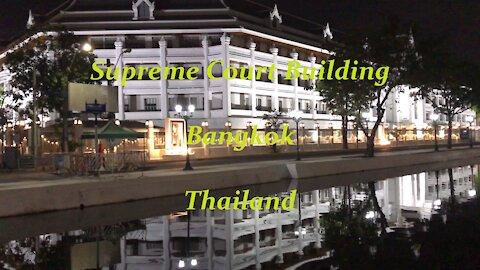 Supreme court building in Bangkok, Thailand