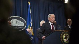 Sessions Announces Zero-Tolerance Border Policy