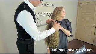 Longest Hair Ever Cut: MAKEOVERGUY® Makeover