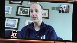 Lansing Mayor holds virtual telethon to help the local community