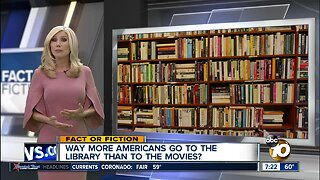 More people going to libraries than movies?