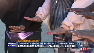 Community remembers 34-year-old Baltimore comedian killed