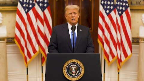 FAREWELL: President Donald Trump delivers Farewell Message on 1/19/2021
