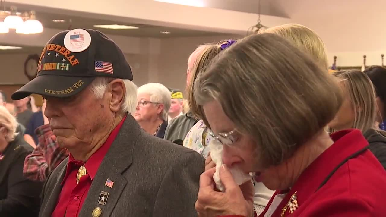 Honoring veterans at the Idaho State Veterans Home in Boise