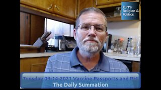 20210914 Vaccine Passports and PHI - The Daily Summation