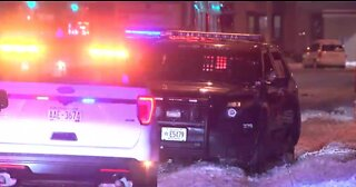 New Berlin squad car hit during chase Sunday night