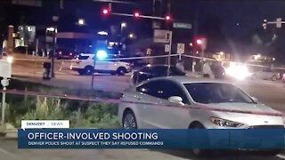 Police shooting in Denver near E. Colfax and Uinta