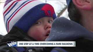 One step at a time: Overcoming a rare diagnosis