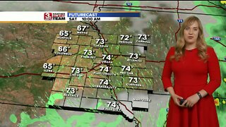 Audra's Weekend Forecast