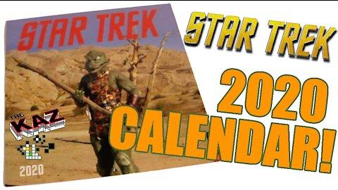 2020 Star Trek Calendar