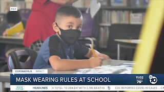 Local school districts react to state's mask rules update