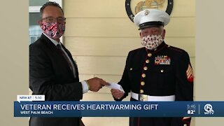 Veteran receives heartwarming gift in West Palm Beach