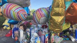 Community gathers to remember 2-year-old Amari Nicholson