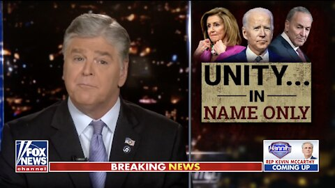 Hannity: Biden orders will eviscerate US economy, sovereignty