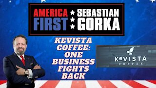 Kevista Coffee: One business fights back. Kevin and Krista Lauinger with Dr. Gorka on AMERICA First
