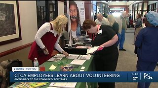 CTCA Employees Learn About Volunteering