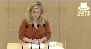 Eva-Maria Holzleitner, colaps in Parlamentul austriac