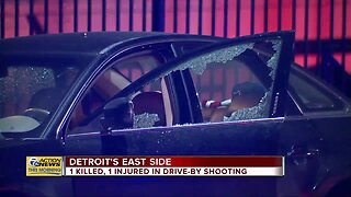 1 killed, 1 injured in drive-by shooting in Detroit