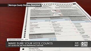 Make sure your vote counts