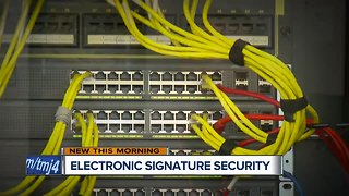How secure is your electronic signature?