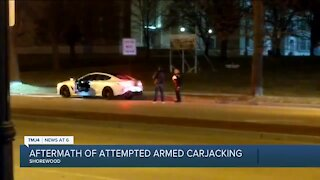 Former Milwaukee Co. Executive was victim of attempted carjacking, witness says