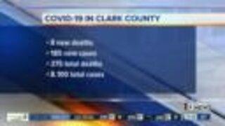 COVID-19 in Clark County   June 11