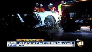 1 dead, 3 injured in crash along SR-163