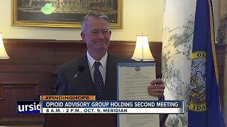 Opioid Advisory Group second meeting