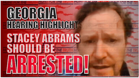 GEORGIA ELECTION HEARING BOBBY PITON ABRAMS & RAFFENSBURG NEED TO BE ARRESTED FOR PROBABLE CAUSE