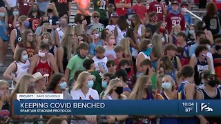 Bixby kicks off football season, what about COVID?